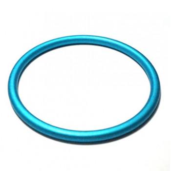 Anneau Aluminium Turquoise