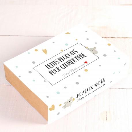 Coffret spécial Noël - Petit produits câliner bébé