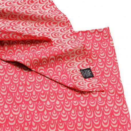 Echarpe de portage, Dune Rouge, coton bio