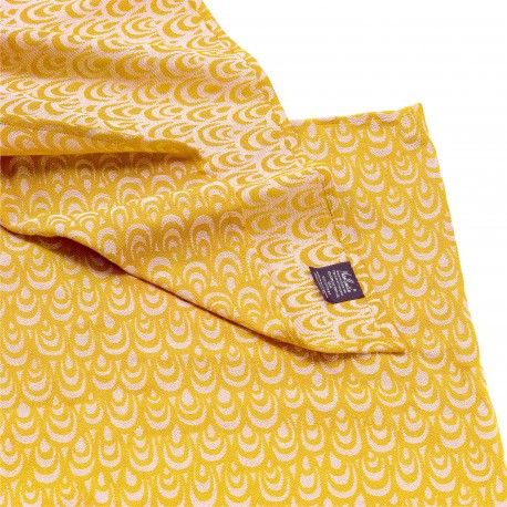 Echarpe de portage, Dune Or, coton bio