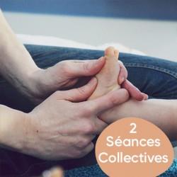 Atelier Reflexologie Plantaire Bébé, 2 seances, collectif