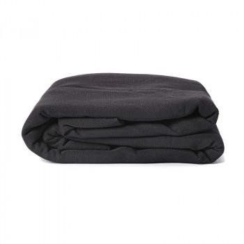 Echarpe Noir c'est Noir, coton Bio