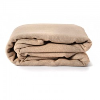 Echarpe Beige Sable, coton Bio
