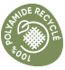 100% Polyamide recyclé